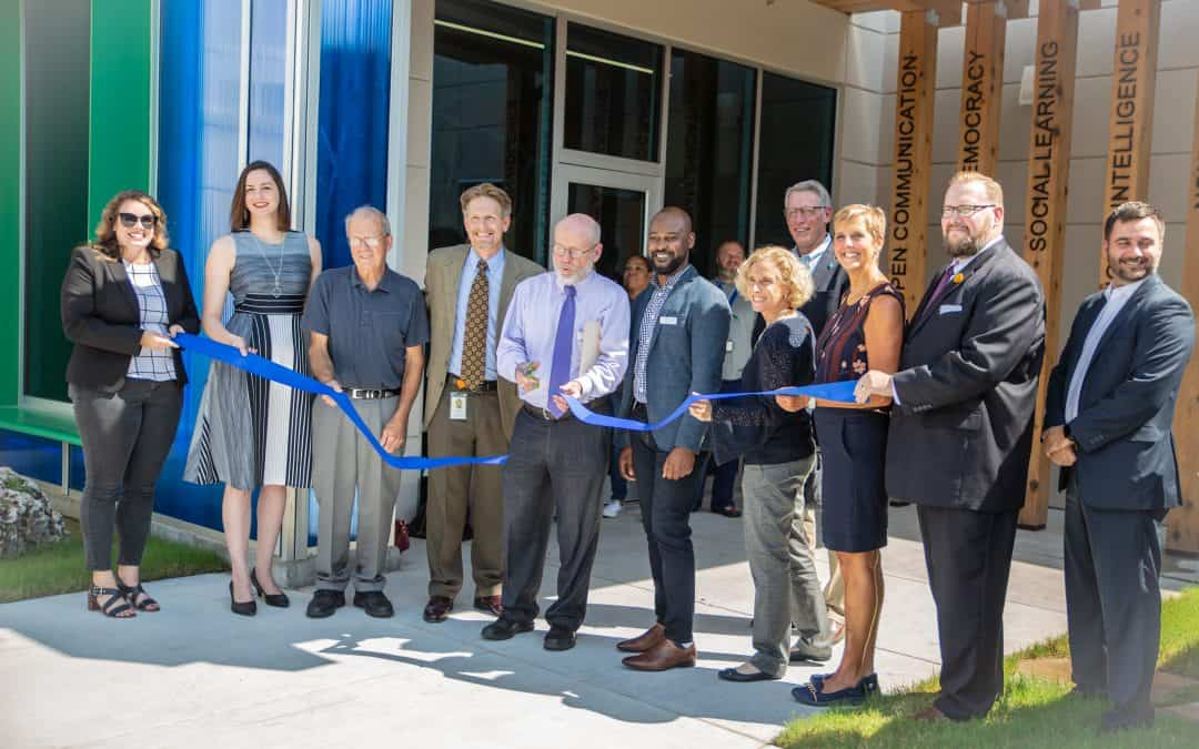 CALM Center Renovations Revealed in Ceremonial Ribbon Cutting